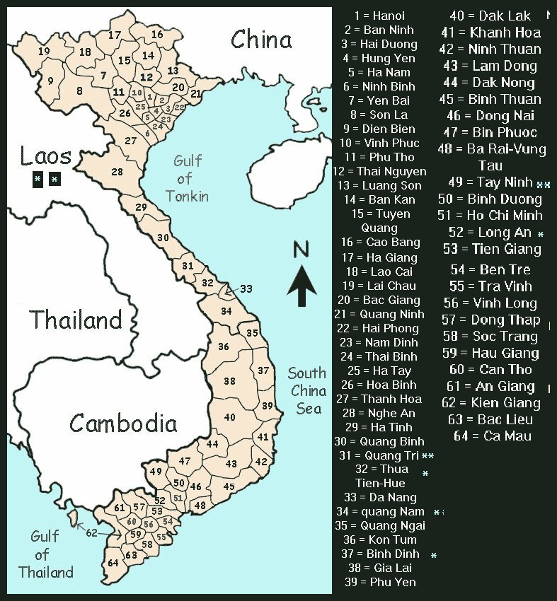 map of vietnam 1969. VN_Vietnam Map1-